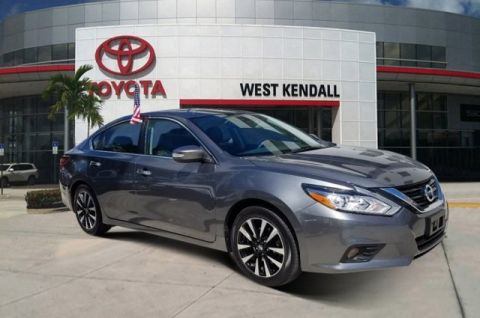 Pre-Owned 2018 Nissan Altima 2.5 SL FWD 4D Sedan