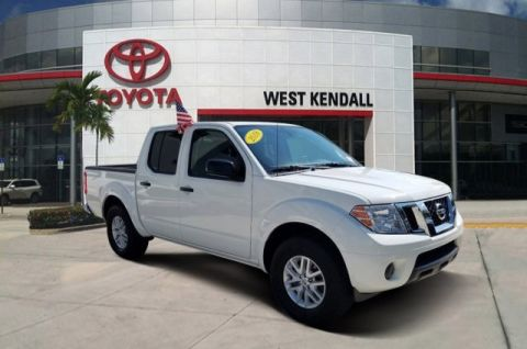 Pre-Owned 2018 Nissan Frontier SV RWD 4D Crew Cab