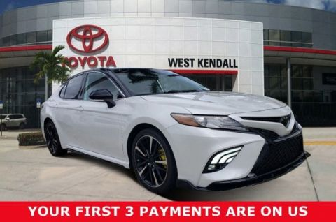 Pre-Owned 2019 Toyota Camry XSE V6 FWD 4D Sedan | Miami, FL