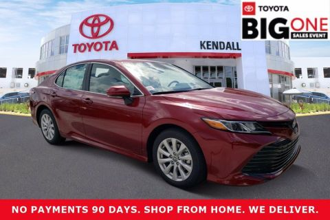 New 2020 Toyota Camry LE FWD 4D Sedan | Miami, FL