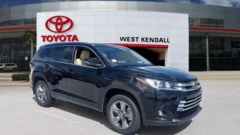New 2019 Toyota Highlander Limited Platinum AWD 4D Sport Utility