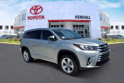 New 2019 Toyota Highlander Limited FWD 4D Sport Utility