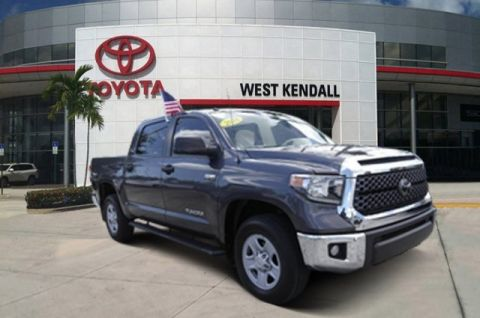Pre-Owned 2018 Toyota Tundra SR5 4WD 4D CrewMax
