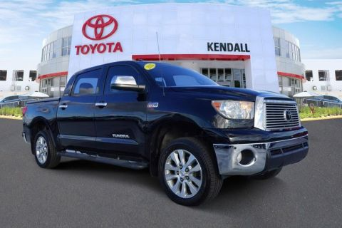 Pre-Owned 2012 Toyota Tundra Limited 4WD 4D CrewMax