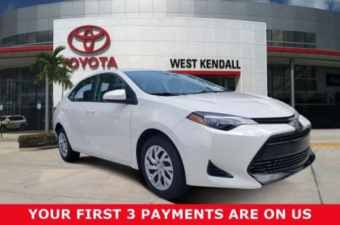 Pre-Owned 2019 Toyota Corolla LE FWD 4D Sedan | Miami, FL