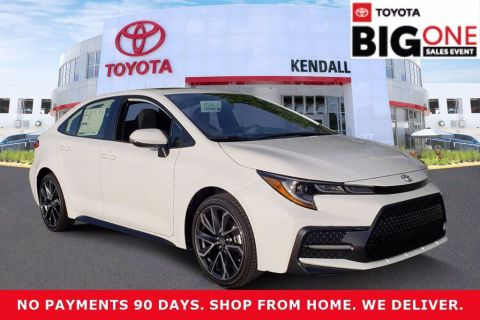 New 2020 Toyota Corolla SE FWD 4D Sedan | Miami, FL