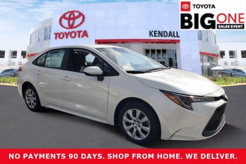 New 2021 Toyota Corolla LE FWD 4D Sedan | Miami, FL