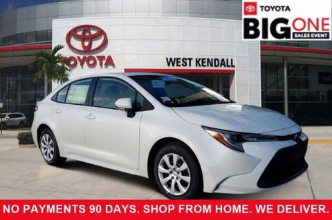 New 2020 Toyota Corolla LE FWD 4D Sedan | Miami, FL