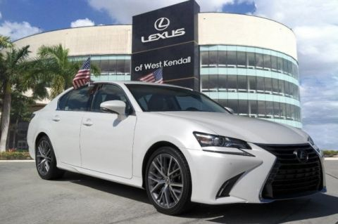 Pre-Owned 2018 Lexus GS 350 RWD 4D Sedan