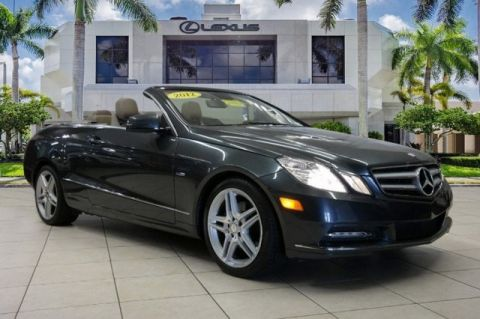 Pre-Owned 2012 Mercedes-Benz E-Class E 350 RWD 2D Convertible