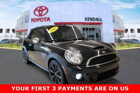 Pre-Owned 2015 MINI Cooper S Base FWD 2D Convertible | Miami, FL